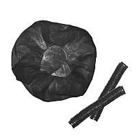 Шапочка черная SOFTEX размер M (пач. 100 шт)