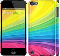 "Чехол на iPod Touch 5 Радужные полоски ""2386c-35"""