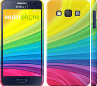 """Чехол на Samsung Galaxy A3 A300H Радужные полоски """"2386c-72"""""""