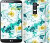 """Чехол на LG G2 цветочный узор м5 """"2501c-37"""""""