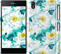 "Чехол на Sony Xperia Z2 D6502/D6503 цветочный узор м5 ""2501c-43"""