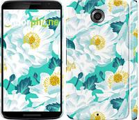 """Чехол на Motorola Nexus 6 цветочный узор м5 """"2501c-67"""""""