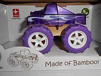 Monster Truck, машинка бамбуковая маленькая, фото 1