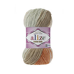 Пряжа Alize Cotton Gold Batik №7103