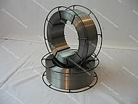 Сварочная проволока НЕОМЕДНЁННАЯ катушки 15 кг К300 1 мм. каркасные проволочные