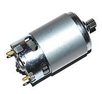 Двигатель для шуруповерта 18V (с шестерней 12 зубов,D=9mm)