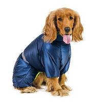 Зимний комбинезон для собаки COLD № 4, ТМ Природа (длина спины: 33см, обхват груди: 52-66см)