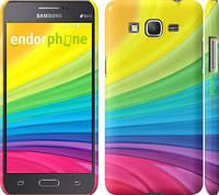 "Чехол на Samsung Galaxy Grand Prime G530H Радужные полоски ""2386c-74"""