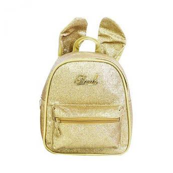 Детский рюкзак с ушками (золотистый) C32094