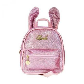Детский рюкзак с ушками (розовый) C32094