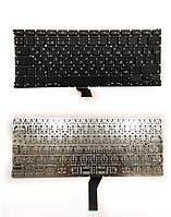 Клавиатура для ноутбука Apple MacBook Air A1369 , A1466 big enter RU черная новая