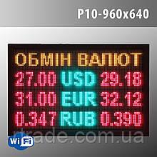 Светодиодное табло курсов валют