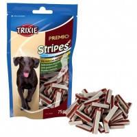 Тrixie PREMIO Chicken and Pollock Snack Stripes лакомство для собак с курицей и рыбой, 75г