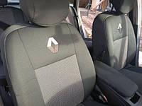 Чехлы для сидений Renault Logan 2013 (цельный) 2013   Оригинальные Premium - Чехлы в салон Рено Логан