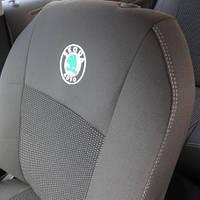 Чехлы для сидений Skoda Octavia A7 1/3 2013   Оригинальные Premium - Чехлы в салон Шкода Октавия