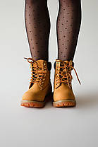 "Зимние ботинки Timberland Classic ""Коричневые"", фото 3"