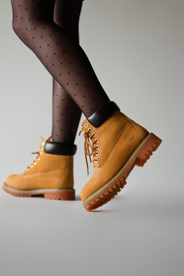 "Зимние ботинки Timberland Classic ""Коричневые"""
