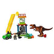 Конструктор JDLT 5409 Парк динозавров 43 деталей