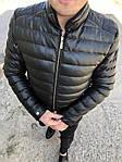 Мужская стильная курточка (черная) - Турция, фото 5