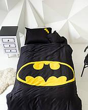 """Детский постельный комплект белья с аппликацией """"Бэтмен"""""""