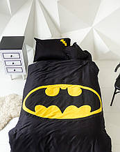 """Дитячий постільний комплект білизни з аплікацією """"Бетмен"""""""