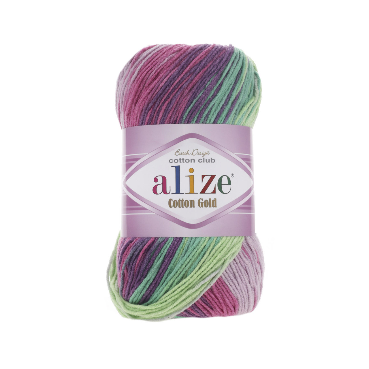 Пряжа Alize Cotton Gold Batik №4147