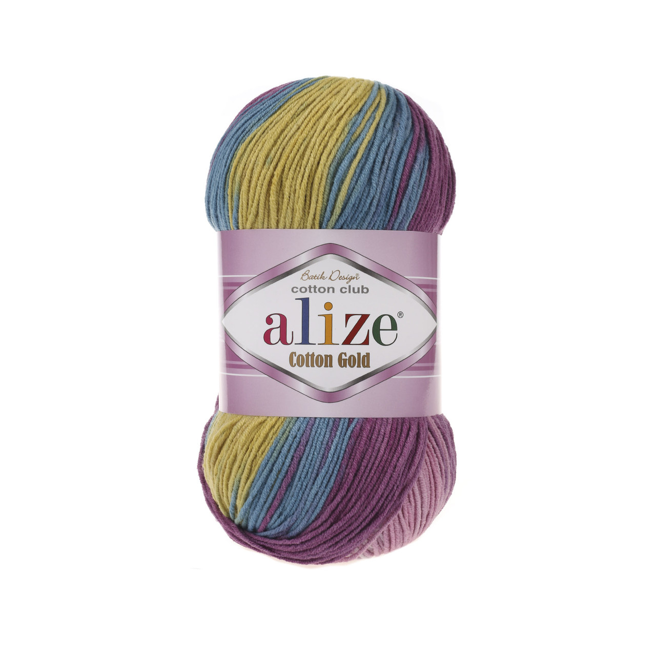 Пряжа Alize Cotton Gold Batik №6794