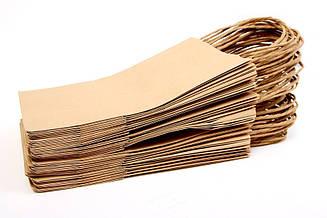 Крафт пакеты. 15х8х21см