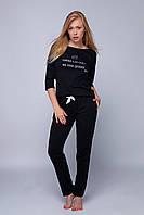 Женская черная пижама Pizama Lin Sensis