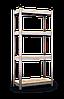 Стеллаж окрашенный 1500х700х300, 4 полки ДСП