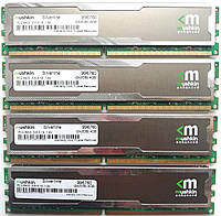 Комплект оперативной памяти Mushkin DDR2 8Gb (4*2Gb) 800MHz PC2 6400U CL5 (996760) Б/У, фото 1