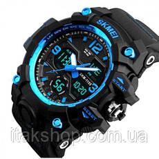 Мужские наручные часы Skmei Hamlet Blue 1155B, фото 2