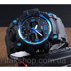Мужские наручные часы Skmei Hamlet Blue 1155B, фото 3