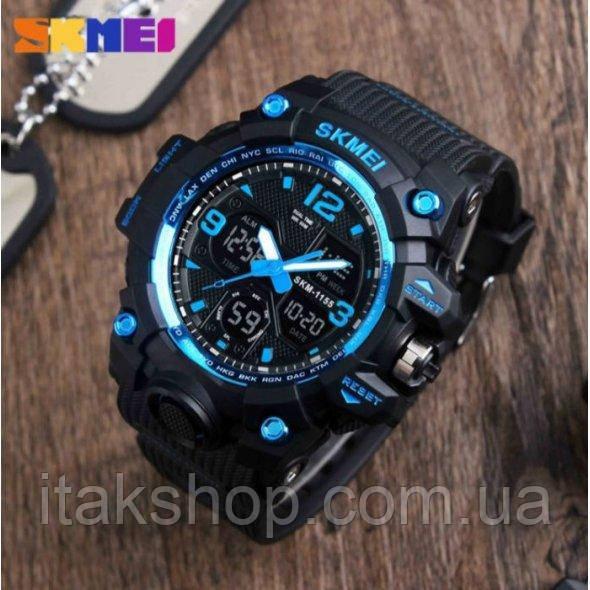 Мужские наручные часы Skmei Hamlet Blue 1155B