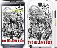 "Чехол на Samsung Galaxy Note 2 N7100 Ходячие мертвецы 1 ""416c-17"""