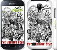 "Чехол на Samsung Galaxy S4 mini Duos GT i9192 Ходячие мертвецы 1 ""416c-63"""