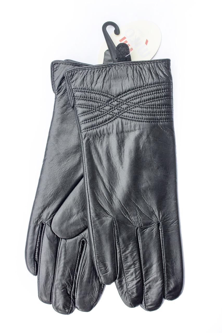 Женские перчатки из натуральной кожи БОЛЬШИЕ