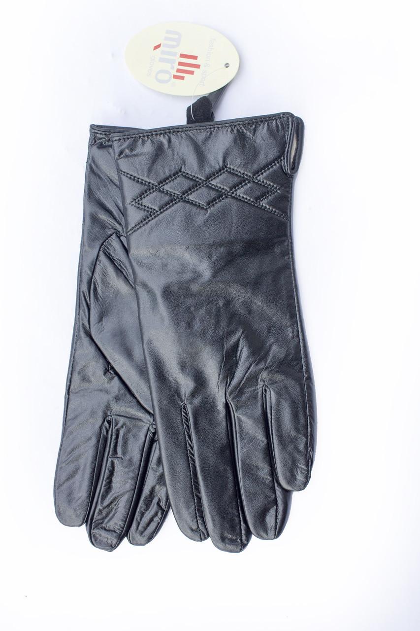 Перчатки кожаные женские опт СРЕДНИЕ