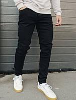 Мужские утепленные джинсы Staff black fleece