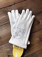 Детские стрейчевые перчатки, фото 1