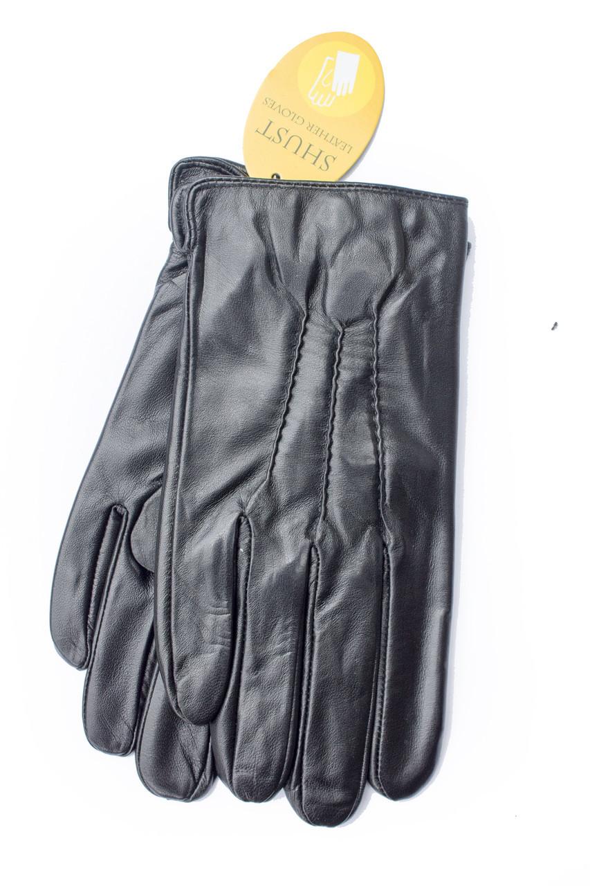 Мужские кожаные перчатки  809s2 Средние