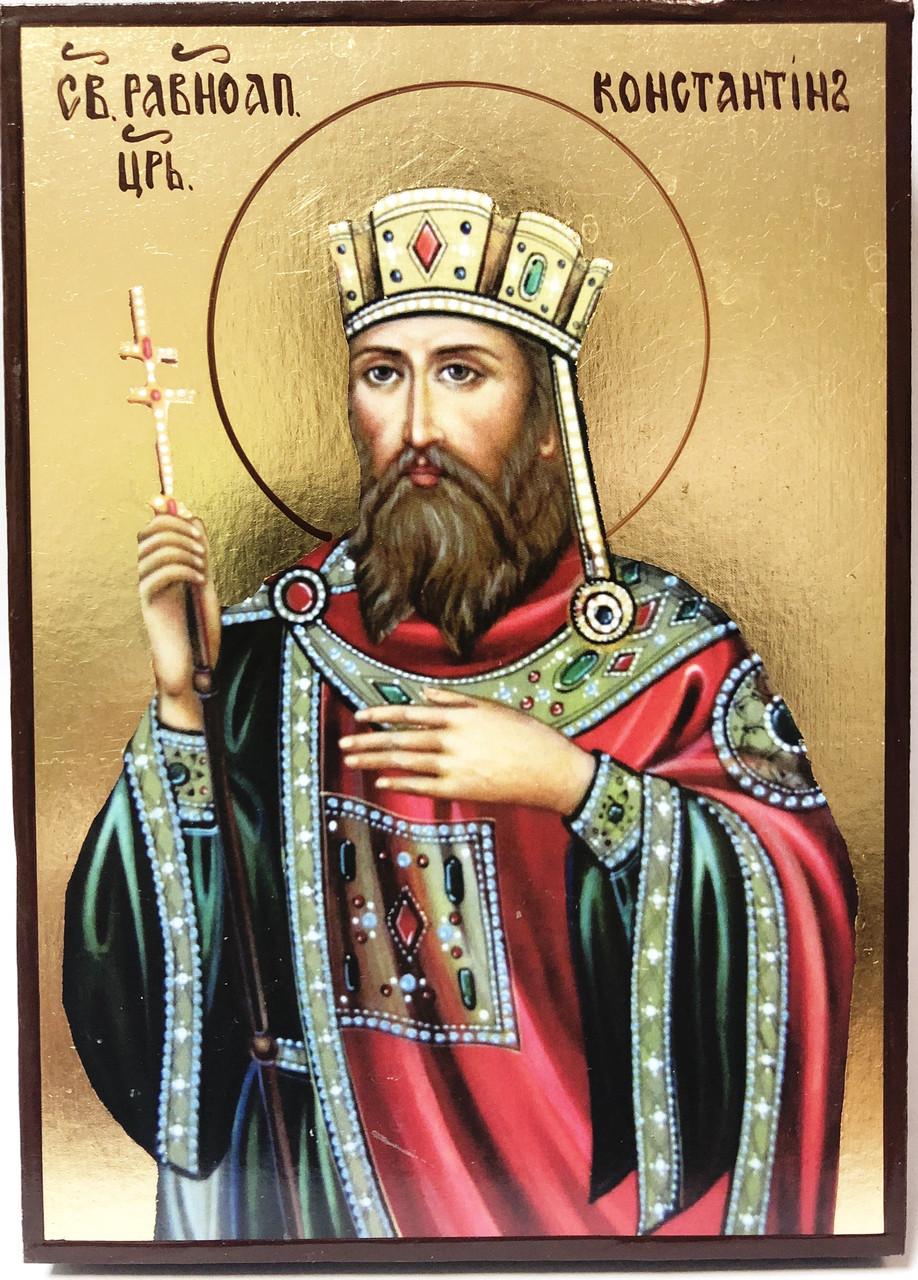 Икона Святой Константин