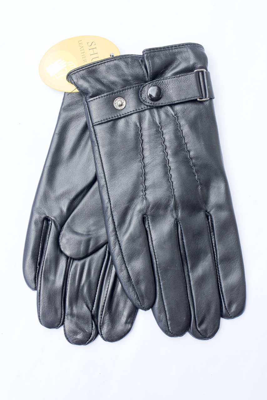 Мужские кожаные перчатки  827s2