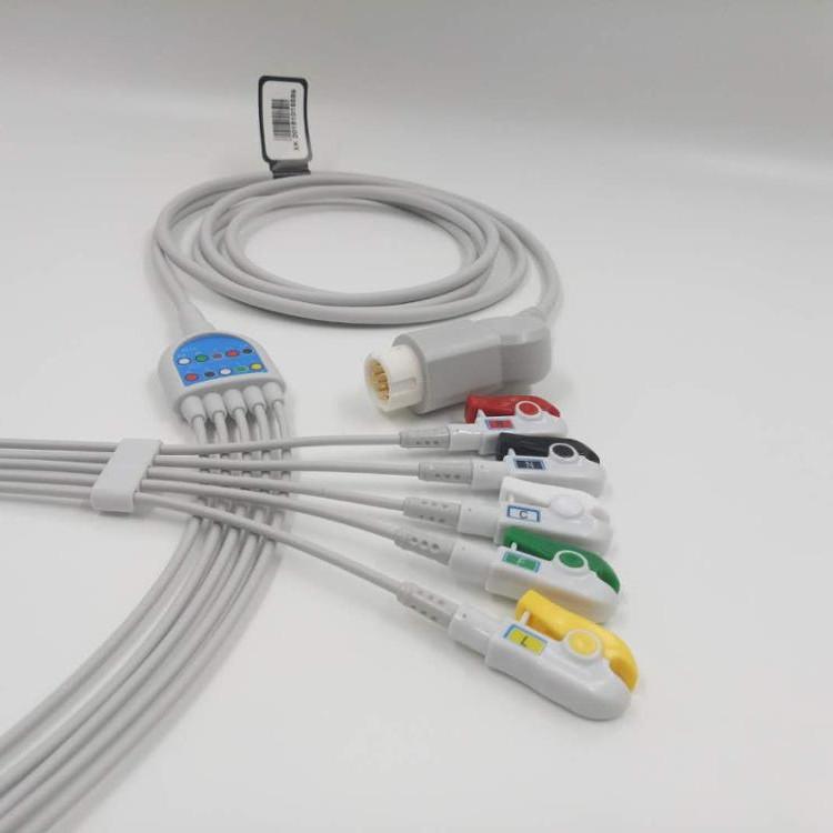 Кабель для ЭКГ на 5 каналов для монитора пациента серии G