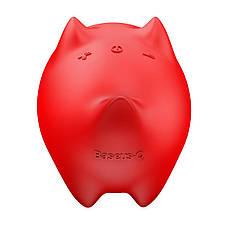 Портативная акустика Baseus Q Dogz E06 Собачка Красный (NGE06-09), фото 3