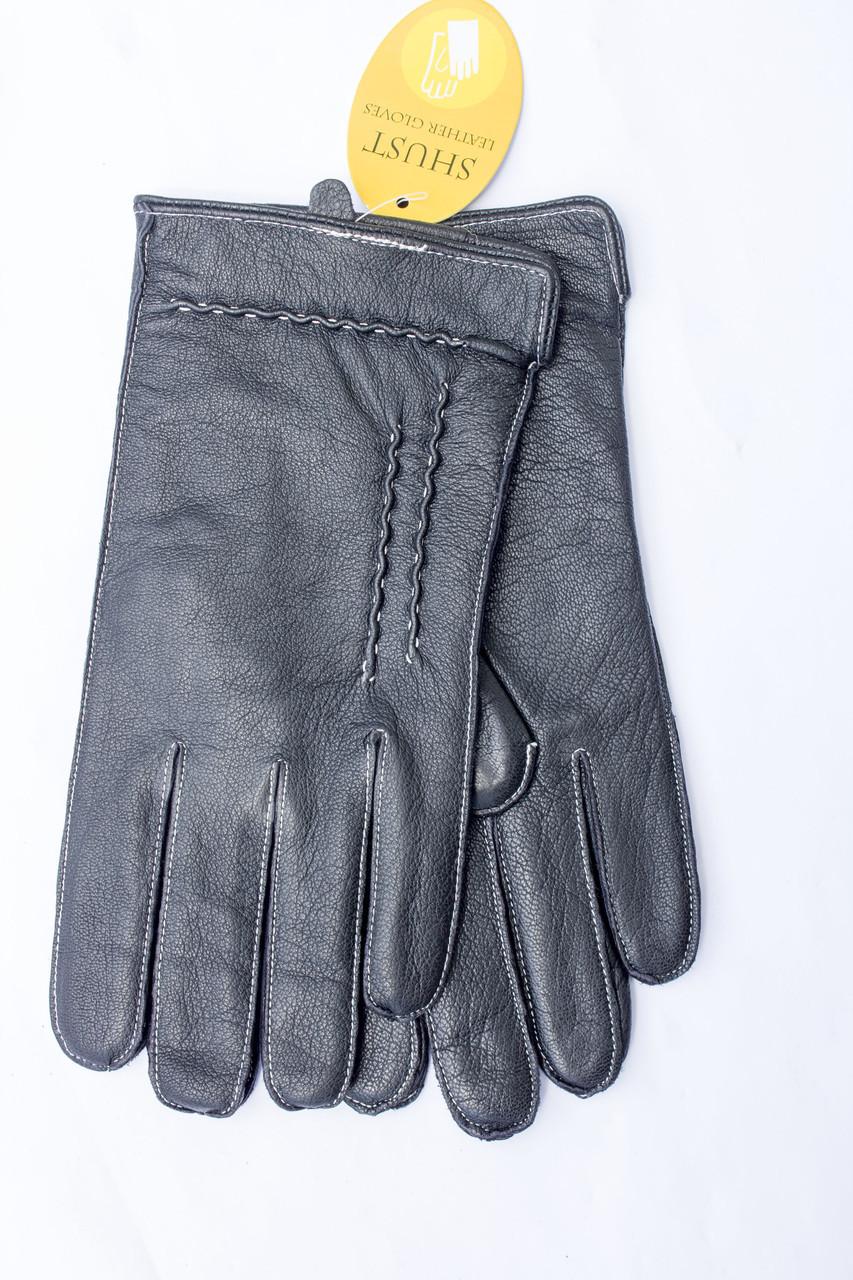 Мужские кожаные перчатки  828s1 Маленькие