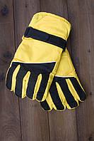 Лыжные перчатки 2001-5 желтые