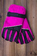 Лыжные перчатки 2001-6 малиновые