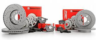 Комплект диски колодки Zimmermann Sport BMW X3 F25 X4 F26