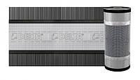 Вентиляционная лента конька Dorken DELTA - VENT ROLL MAXX 310мм х 5000 мм цвет черный (1700)
